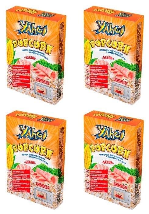 Попкорн Yaho Бекон в зернах, 85 г (4 шт.)