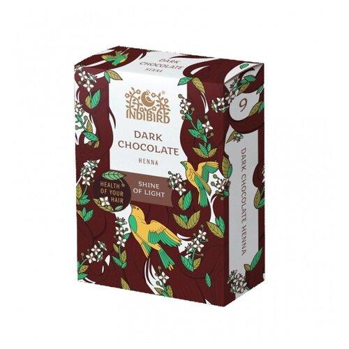 Купить Хна Indibird Dark Chocolate Henna тёмный шоколад, 100 г