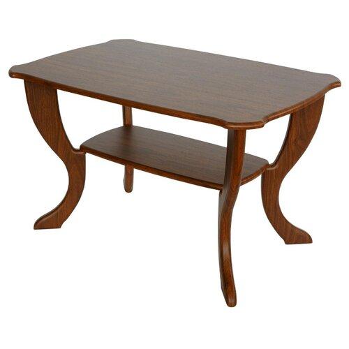 Столик журнальный Калифорния мебель Маэстро СЖ-01, ДхШ: 90 х 60 см, орех детские столы и стулья калифорния мебель стол журнальный маэстро сж 01