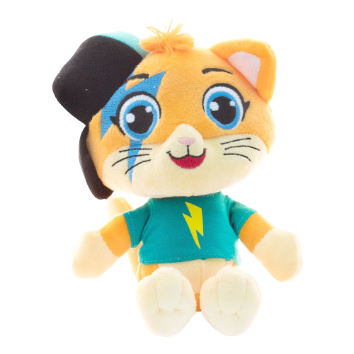 Купить Мягкая игрушка 44 Котенка Лампо 20 см, Мягкие игрушки