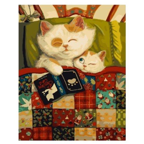Купить Картина по номерам Paintboy Original, 26094 Сказки на ночь 40х50см, Картины по номерам и контурам
