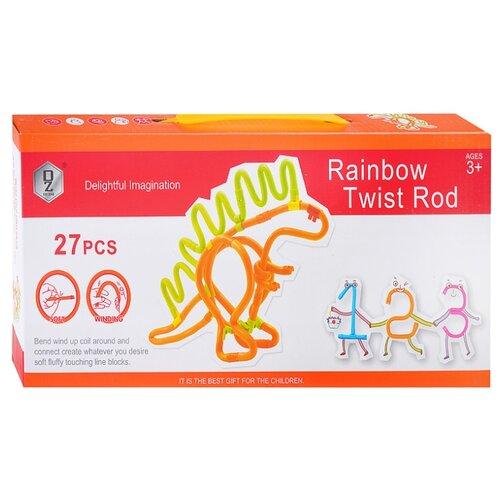 Мягкий конструктор QeZhi Delightful Imagination HD831 Rainbow Twist Road wedgits конструктор imagination set