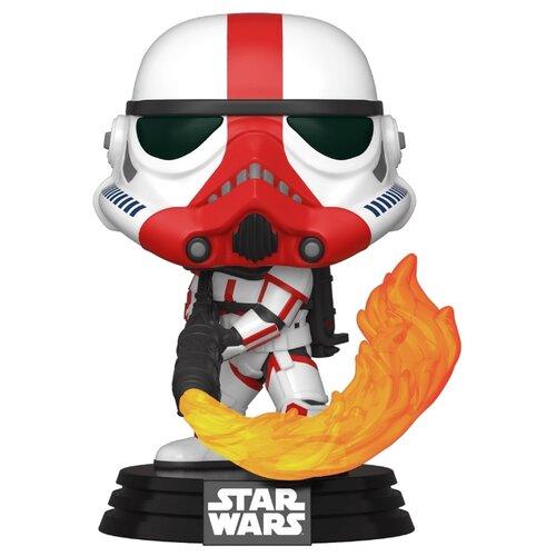 Купить Фигурка Funko POP! Star Wars: Мандалорец: Штурмовик-огнеметчик 45542, Игровые наборы и фигурки