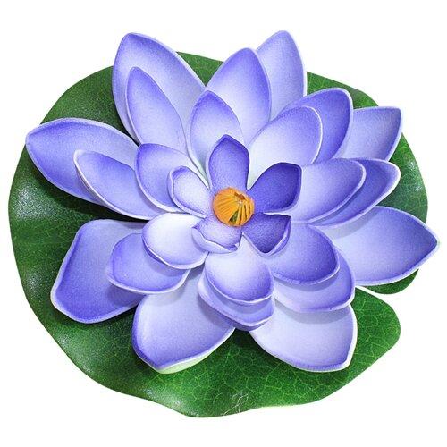 Фигура для водоема Inbloom Лилия декоративная 15 см (171-002) синий