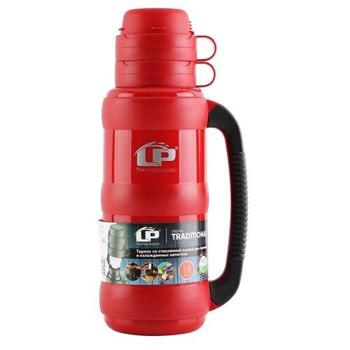 Классический термос LP Traditional, 1.8 л красный