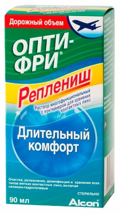 Раствор Опти-Фри (Alcon) Реплениш 90 мл