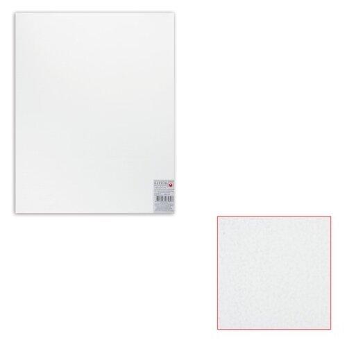 Картон белый грунтованный для живописи, 40х50 см, двусторонний, толщина 2 мм, акриловый грунт картон грунтованный подольские товары для художников для масляной живописи 50 х 70 см 4610003280871