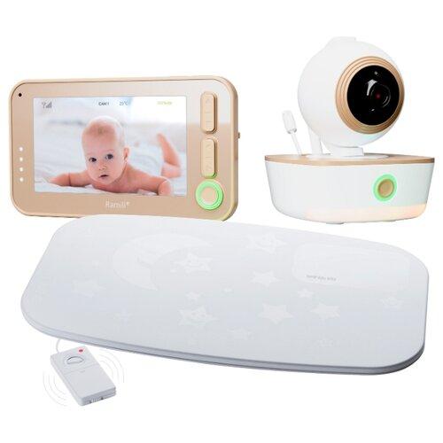 Видеоняня Ramili Baby RV1300SP белый/бежевый