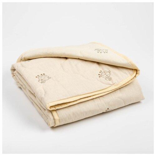 Одеяло Адамас облегченное, овечья шерсть, 110*140+,-5 см