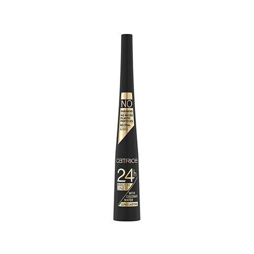 CATRICE Подводка для глаз 24h Brush Liner, оттенок 010 ultra black