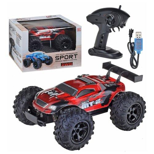 Купить Монстр-трак Oubaoloon 513-A2 22 см красный/черный, Радиоуправляемые игрушки
