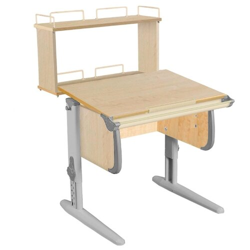 Купить Стол ДЭМИ White-Стандарт СУТ-24-01Д 75x82 см клен/серый/серый, Парты и столы