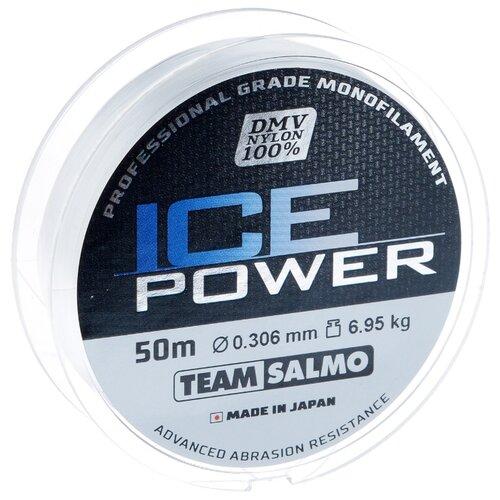Монофильная леска Salmo Ice Power прозрачный 0.306 мм 50 м 6.95 кг