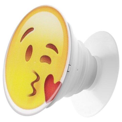 Krutoff / Пластмассовый держатель Krutoff для телефона Попсокет (popscoket) Смайлик (вид 2) держатель krutoff xpo17 17096