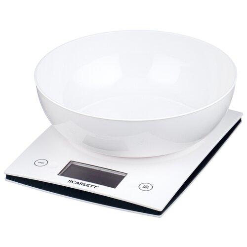 цена на Кухонные весы Scarlett SC-KS57B10 белый