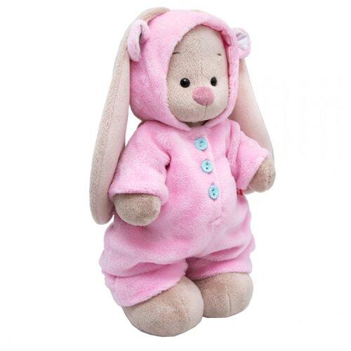 Купить Мягкая игрушка Зайка Ми в меховом комбинезоне 25 см, Мягкие игрушки