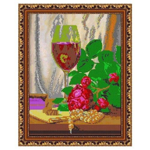 Купить Диамант Набор алмазной вышивки Бокал вина (ДК-389) 30х38 см, Алмазная вышивка