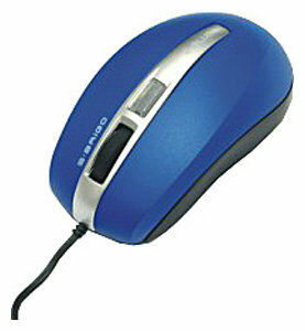 Мышь e-blue EMS052H00 Blue USB+PS/2