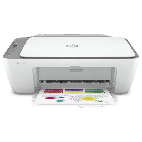 Фото - МФУ HP DeskJet 2721, белый мфу hp deskjet 2720 белый