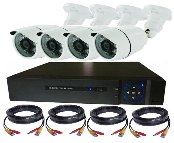 Комплект видеонаблюдения Eseeco AHD4013 4 камеры