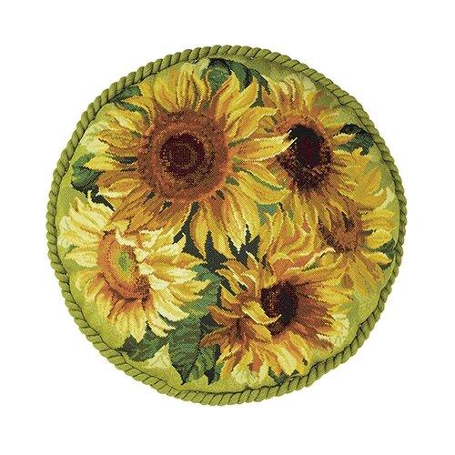 Купить 1530 Набор для вышивания Riolis подушка 'Подсолнухи', 45*45 см, Риолис, Наборы для вышивания