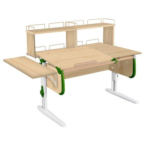 Стол ДЭМИ СУТ-25-02Д2 145x82 см клен/зеленый/белый стол дэми сут 25 02д2 145x82 см белый зеленый бежевый