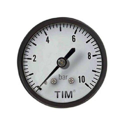 Аналоговый манометр Tim Y50T-10bar