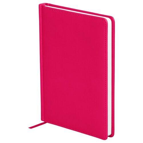 Ежедневник OfficeSpace Winner недатированный, искусственная кожа, А5, 136 листов, ярко-розовый ежедневник officespace winner недатированный искусственная кожа а5 136 листов розовый