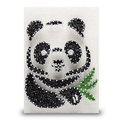 Купить Набор для творчества стринг арт Панда (арт. A4016), String Art Lab, Поделки и аппликации