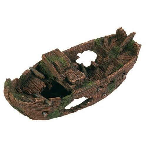 Грот TRIXIE Обломки корабля (8876) высота 29 см зеленый/коричневый