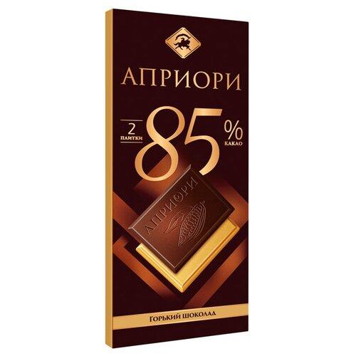 Шоколад Априори горький 85% какао, 72 г шоколад cachet bio organic элитный бельгийский горький 85% какао танзания 100 г