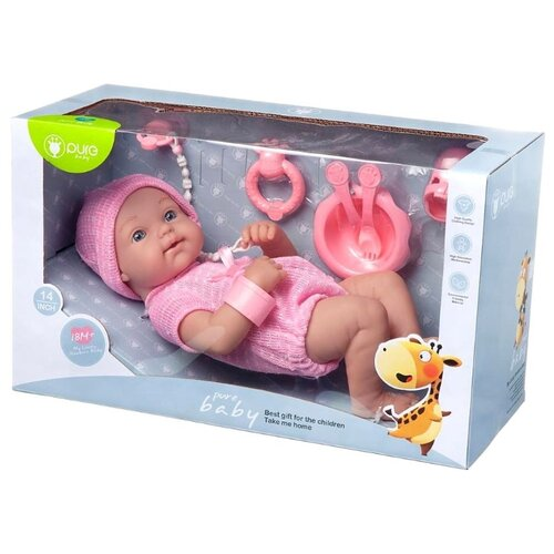 Купить Пупс Junfa toys Pure Baby, 35 см, WJ-B9974, Куклы и пупсы