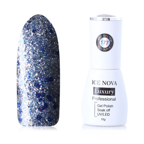 Купить Гель-лак для ногтей ICE NOVA Luxury Professional, 10 мл, 177