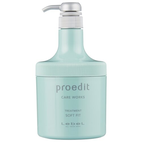 Lebel Cosmetics Маска для волос Proedit Hair Treatment Soft Fit, 600 мл hair cosmetics