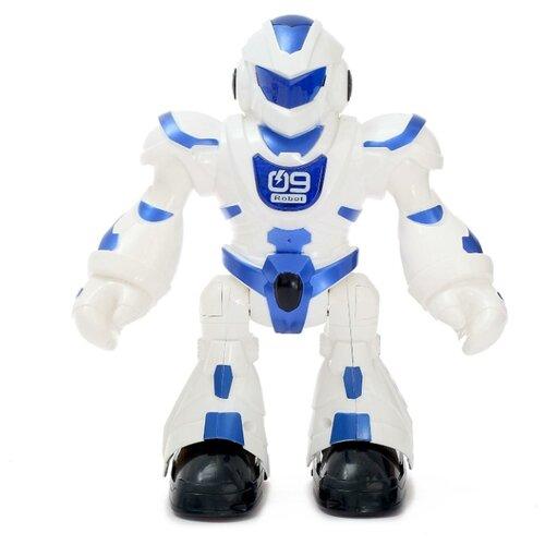 Купить Робот радиоупарвляемый Танцор , световые и звуковые эффекты, работает от батареек 4431100, Сима-ленд, Роботы и трансформеры