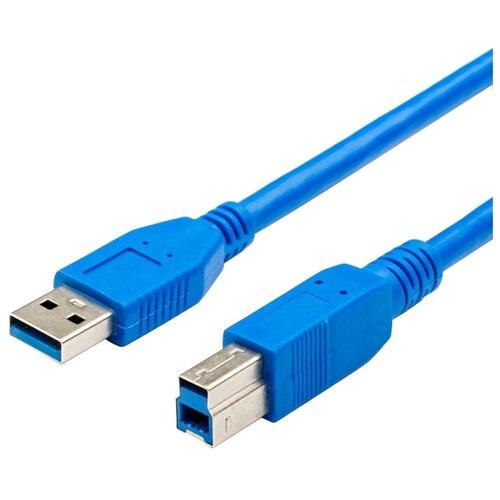 Кабель Atcom USB-A - USB-B 1.8 м синий