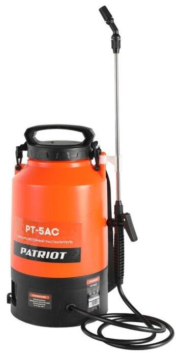 Распылитель ранцевый аккумуляторный PATRIOT PT-5AC
