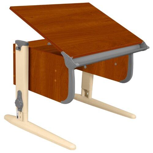Купить Стол ДЭМИ СУТ-24 75x55 см яблоня/серый/бежевый, Парты и столы