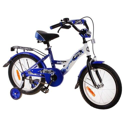 Детский велосипед Grand Toys GT6636 Safari Proff синий (требует финальной сборки) цена 2017