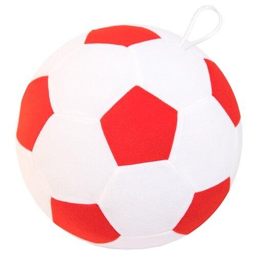 Купить Погремушка Мякиши Мяч футбольный 439/440/445 белый/красный, Погремушки и прорезыватели