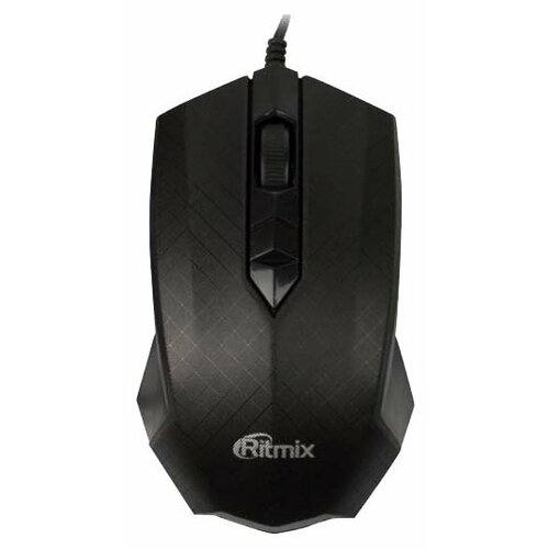 Мышь Ritmix ROM-202 Black USB черный мышь ritmix rom 111 black grey usb серый