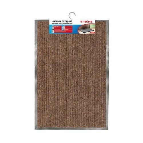Придверный коврик Лайма ворсовый (602862/602868/602872/602874/602875/602877), размер: 0.9х0.6 м, коричневый