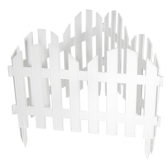 Забор декоративный PALISAD Романтика — купить по выгодной цене на Яндекс.Маркете