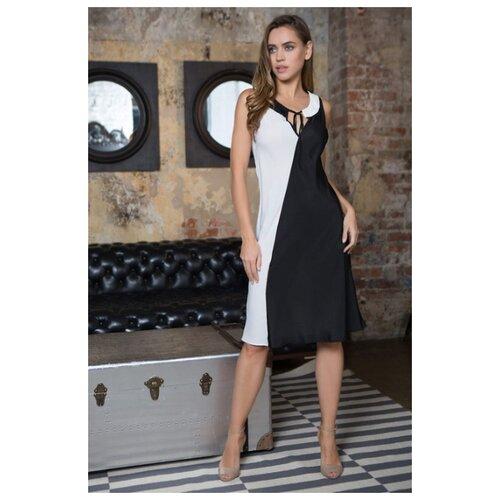 Платье Mia-Mia размер L(48) белый/черный платье mia mia размер xs 42 черный белый