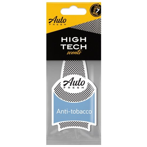 Auto Fresh Ароматизатор для автомобиля Dry High Tech Scents Anti Tobacco anti tobacco legislation
