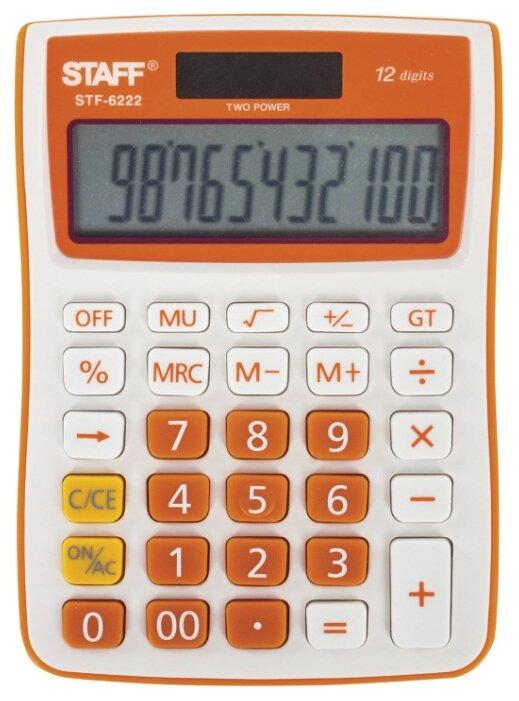 Калькулятор бухгалтерский STAFF STF-6222