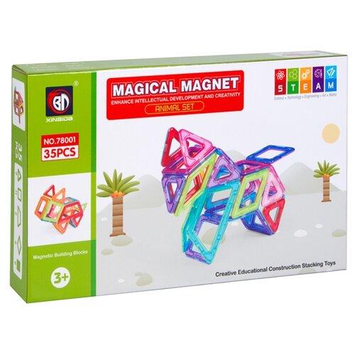 Магнитный конструктор Xinbida Magical Magnet 78001
