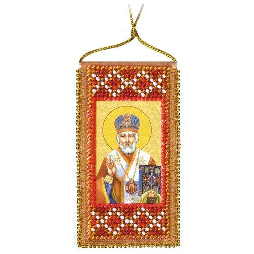 Купить ABRIS ART Набор для вышивания бисером Молитва Николаю Чудотворцу 5 х 10 см (АВО-009), Наборы для вышивания