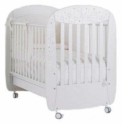 Кроватка Baby Expert Butterfly (качалка)