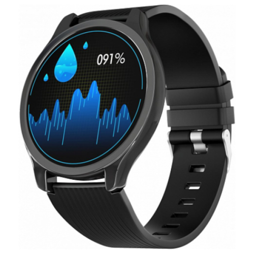 Умные часы GSMIN WP7 (silicone), черный